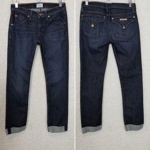 HUDSON Bacara Flood Cuff Straight Leg Jeans